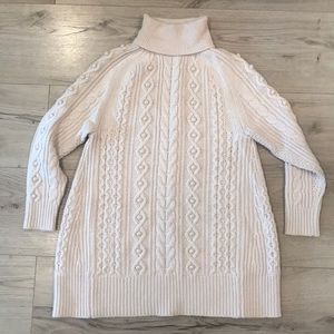 J Crew Cable Knit Wool Sweater. Size S/M.